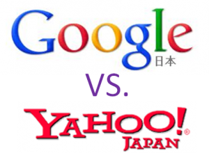 Google japan VS. Yahoo japan