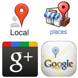 Google places vs Google plus
