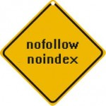 No index no follow sign