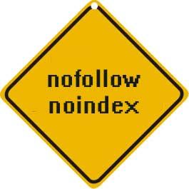 No index no follow sign