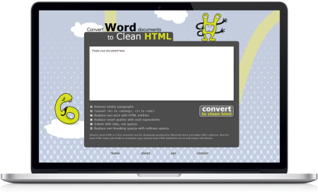 Convert Word Documents to HTML