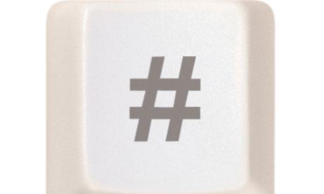 the hash symbol