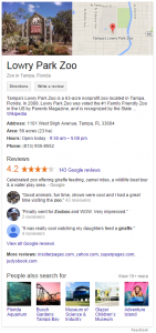 local SEO knowledge panel