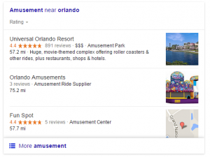 local SEO carousel