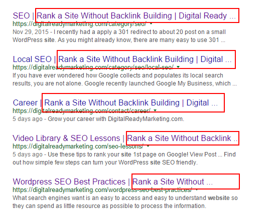 rank a website without backlinks comes first